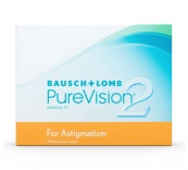 Purevision 2 For Astigmatism (6 unid.)